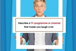 IELTS Speaking part 2: Describe a TV programme or channel that made you laugh a lot