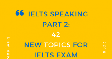 IELTS SPEAKING - BOOK TOPIC