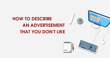 IELTS VOCABULARY : HOW TO DESCRIBE A ADVERTISEMENT THAT YOU DON'T LIKE