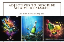 IELTS VOCABULARY : ADJECTIVES TO DESCRIBE AN ADVERTISMENT
