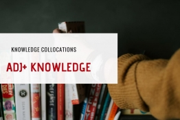 KNOWLEDGE COLLOCATIONS (PART 2)