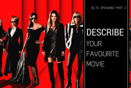 IELTS SPEAKING: DESCRIBE YOUR FAVOURITE MOVIE